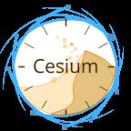 Le logo de Cesium